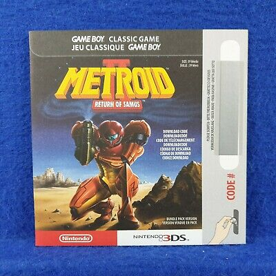 METROID II 2 RETURN OF SAMUS Game Code ONLY From Legacy Edition NEW PAL UK