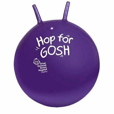 GOSH Retro Adult Space Hopper 60cm with Foot Pump - Boxed Outdoor Inflatable