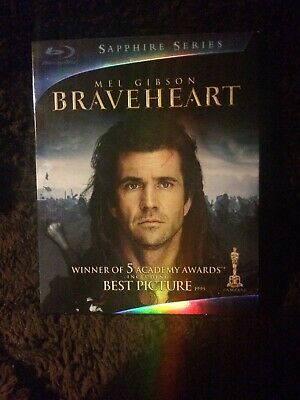 Braveheart (Blu-ray Disc, 2009, 2-Disc Set, Sapphire Edition) slipcase included