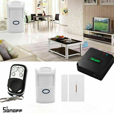 SMART HOMESECURITY RF Bridge 433MHz Wifi Switch Sensor Alarm