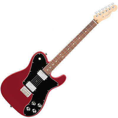 Fender American Professional Telecaster Deluxe Shawbucker - RW - Candy Apple Red