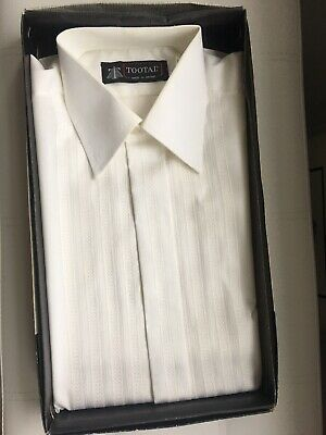 "New in the box Tootal mens vintage dress shirt size 15.5"" collar"