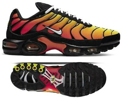 NIKE AIR MAX Plus TN SE Tuned Black Silver Orange CD1533 001