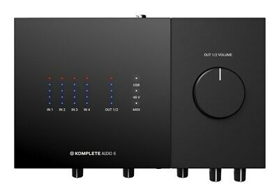 Native Instruments Komplete Audio 6 Mk2 USB Audio Interface