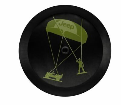 Jeep® Wrangler JL Genuine Mopar® Army Men Spare Wheel Cover New Parachute Willys