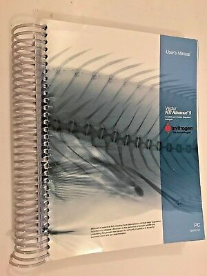 2004 VECTOR NTI ADVANCE 9 User's Manual - Invitrogen tutorial, database explorer