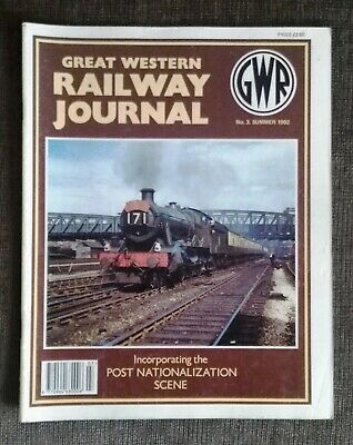 Great Western Railway Journal No.3 Summer 1992. Preowned in Good Condition