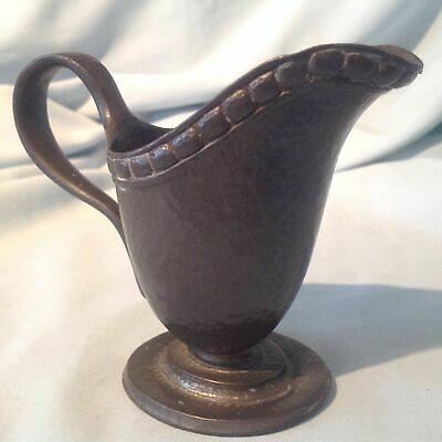 Antique Liberty Tudric Solkets Arts & Crafts Pewter Cream/Milk Jug