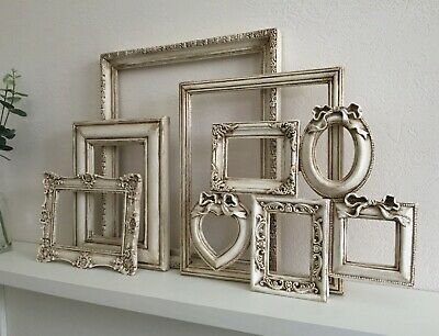 Ornate French Vintage Shabby Chic Open Picture/Photo Frame Wall Wedding/Decor