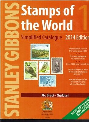 2014 Full Set Stanley Gibbons Stamps Of The World Simplified Catalogue A-Z 6-Vol