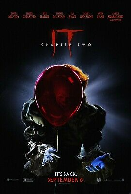 "It Chapter 2 Movie Poster 24"" x 36"" or 27"" x 40"""