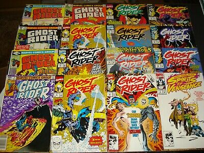 Ghost Rider Copper And Modern Starter Collection Lot (28 Comics)