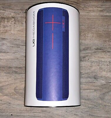 Ultimate Ears UE MEGABOOM Portable Bluetooth Speaker Electric Blue NEW IN BOX