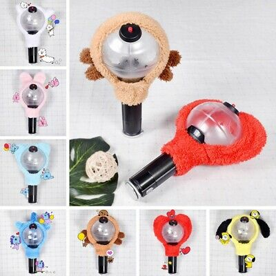 KPOP BTS Ver.3 Light Stick Lampshade Bangtan Boys Cartoon Lightstick Cover UK