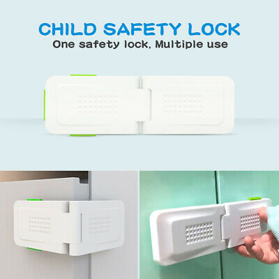 10 PCS Safety Child Infant Baby Kids Drawer Door Cabinet Cupboard Toddler Locks