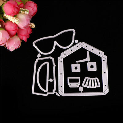 Greeting Cards Framed Cutting Dies Stencil Scrapbook Paper Cards Diary Craft Pip