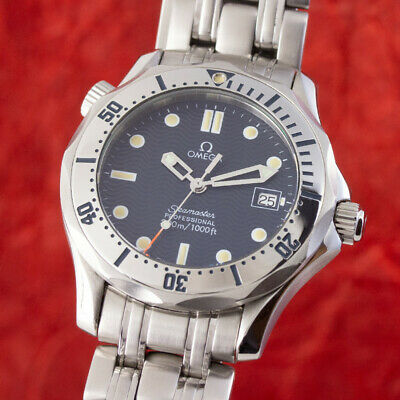 Omega Seamaster 300M Professional Stahl Herrenuhr Medium 196.1502 VP: 2300,- €