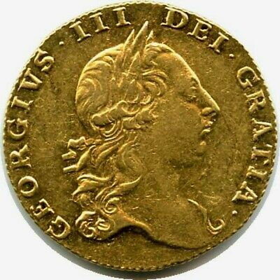 Great Britain 1764 Gold Guinea, King George III shield reverse, 2 year only type