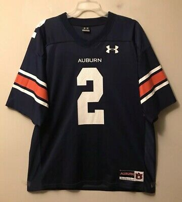be3c5edf6b5 Under Armour AUBURN TIGERS #2 CAM NEWTON Home Football Jersey LG LIKE NEW!