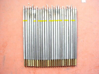 Lot of 25 assorted soldering tips for Metcal