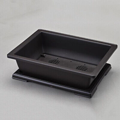 Rectangle Flower Pot Bonsai Nursery Planter Accessories Decoration For Home Hot