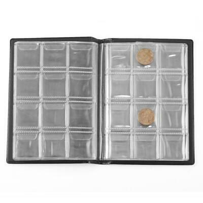 120 Album Coin Penny Money Storage Case Book Folder Holder Collection 10 Page
