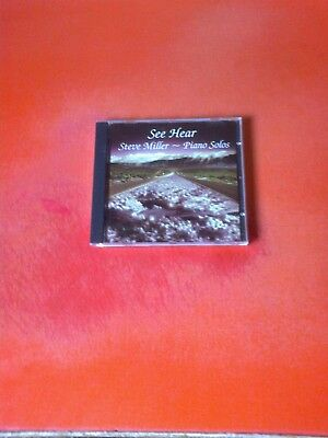 STEVE MILLER See Hear - Piano Solos CD Album! Band