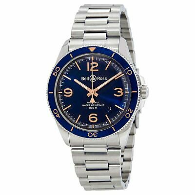 Bell and Ross Vintage Automatic Mens Watch BRV292-BU-G-ST-SST