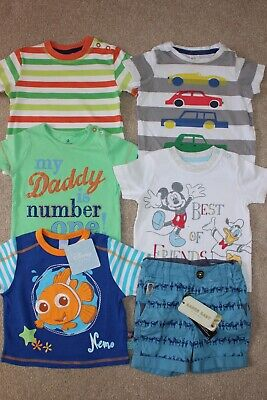 Baby Boy Job Lot Clothes Ted Baker / H&M / Disney / Next Age 3-6 Months