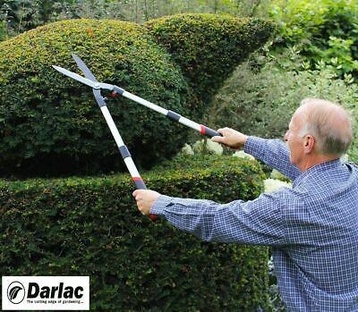 Telescopic Hedge Garden Shears Extending Handle Locking Carbon Steel