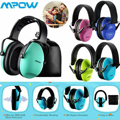 MPOW Kids Child Infant Ear Muffs Defenders Noise Reduction Festival Protection