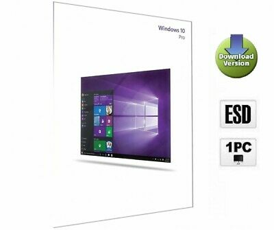 Microsoft Windows 10 Professional Aktivierungsschlüssel OEM-Key x86 x64 Download