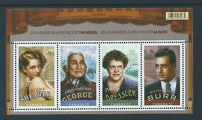 Canada #2279 2008 Canadians In Hollywood The Sequel S Sheet MNH *Free Shipping*