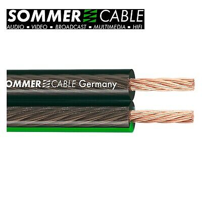 Sommer Cable Lautsprecherkabel SC-Orbit 240 MKII; 2 x 4,0 mm² HighEnd /10 Meter