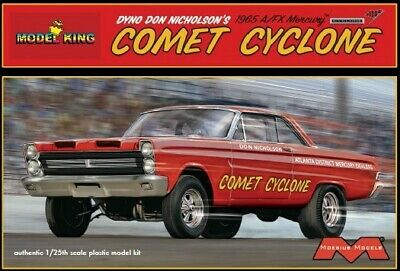 Moebius Don Nicholson 1965 A/FX Mercury Comet Cyclone, 1/25, New, in FS Box