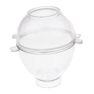 Egg Shaped Clear Plastic Candle Making Mould Mold Candle Model DIY Craft Tool