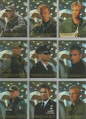 Rittenhouse Sketch Chase Cards Stargate SG-1 Costume Piecework Cards /& Promo