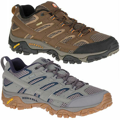 Mens Merrell Moab 2 GORE-TEX Hiking Walking Shoes Trainers Sizes 6.5 to 15
