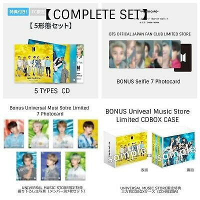 [Pre-Order] BTS Lights/Boy with Luv 5CD Set+7 Photocard+7 photo+BOX COMPLETE SET