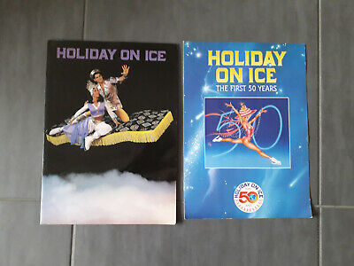 Lot De 2 Programmes Holiday On Ice