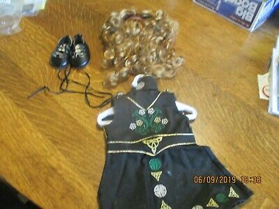 "American Girl 18"" Doll Irish Celtic Dance Performance Costume Outfit Nellie"