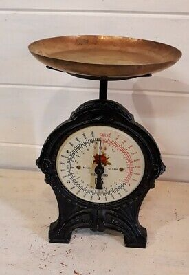 Ancienne balance EKS Sweden de cuisine - Vintage kitchen scale