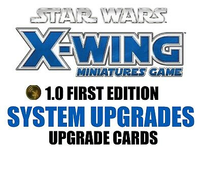 Star Wars X-Wing 1.0 Miniatures Game - System Upgrades Single Upgrade Cards