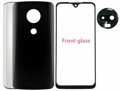 Rear Glass Battery Back Door  Cover Housing Replace For Motorola Moto G7 XT1962