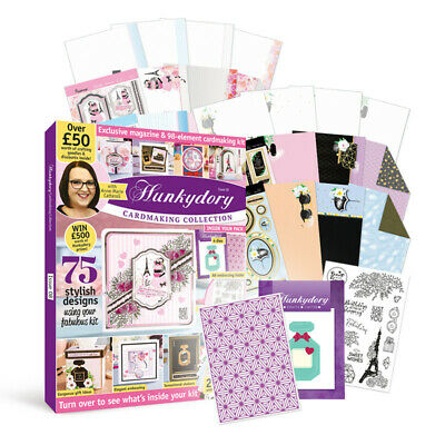 Hunkydory Box Magazine - Issue 8 - Cardmaking Collection - FREE 1st Class Post