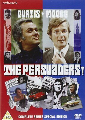 THE PERSUADERS - COMPLETE SERIES (9 Disc DVD Set) Roger Moore / Tony Curtis