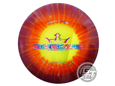 NEW Dynamic Discs Lucid Renegade 175g Purple Burst DYED Driver Golf Disc