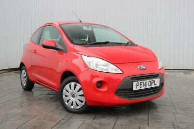 2014 14 Ford Ka 1.2 Edge 3Dr Red - Air Conservice History