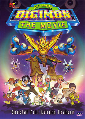 Digimon: The Movie (Dvd, 2001) - New Dvd Rare Oop Sealed