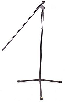 Musician's Gear Tripod Mic Stand With Fixed Boom, Black-BLEMISHED